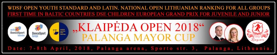 Klaipeda Open BANERIS 2018
